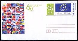 Pologne - Poland - Polen Entier Postal 2009 Y&T N°EP(1) - Michel N°(?) *** - 1,25z Conseil De L'Europe - Entiers Postaux