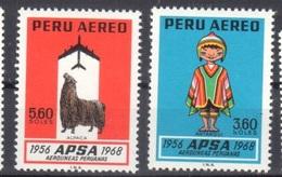 Peru Mnh ** 1968 Air Company - Peru