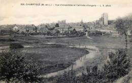 D062 : Champtocé - Vue De L'arrivée D'Angers - Francia