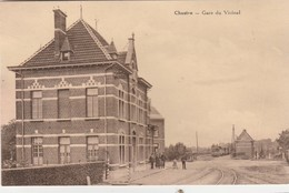 Chastre ,gare Du Vicinal ,( Voir Arrière = Tram Vicinal ) - Chastre
