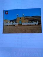 Chile  Postcard Arica Poconchile Church Un Lluta Valley - Chile