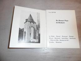 Klein Boekje ( 52 Blz. ) Brabant : La Hulpe  Genval  Wavre  Gentinnes  Mellery  Marbais  Houtain - Le - Val  Genappe - Livres, BD, Revues