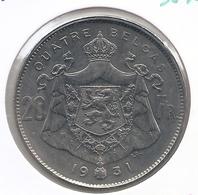 ALBERT I * 20 Frank / 4 Belga 1931 Frans  Pos.B * Prachtig * Nr 9848 - 1909-1934: Albert I