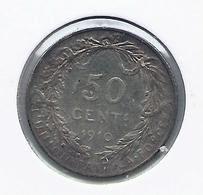 ALBERT I * 50 Cent 1910 Frans * Z.Fraai * Nr 9839 - 1909-1934: Albert I