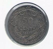 ALBERT I * 50 Cent 1911 Vlaams * Z.Fraai * Nr 9842 - 1909-1934: Albert I