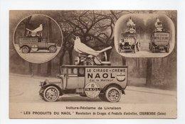 - CPA COURBEVOIE (92) - Voiture-Réclame De Livraison LES PRODUITS DU NAOL - Manufacture De Cirages... - Courbevoie