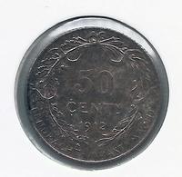 ALBERT I * 50 Cent 1912 Vlaams * Z.Fraai / Prachtig * Nr 9844 - 1909-1934: Albert I