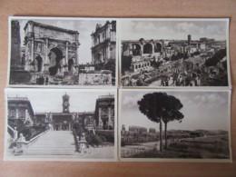 Italie - Lot De 4 CPA De Rome / Roma Dont Campidiglio, Foro Romana, Etc... - Cartes Non-circulées - Roma (Rome)