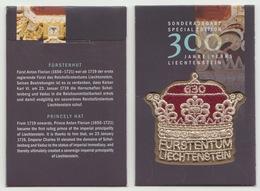Liechtenstein 2019 - 300 Years Of Liechtenstein (Embroidery Stamp) - Liechtenstein