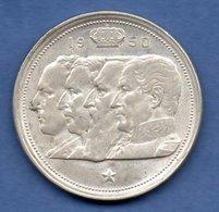 Belgique  - 100 Francs 1950  - Km # 138.1  -état  TTB - 06. 100 Francs
