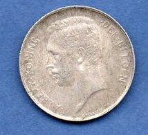 Belgique  - 1 Franc 1913  - Km # 73.1  -état  TTB - 1909-1934: Albert I