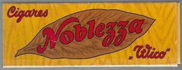 Boîte Vide De Cigares Noblezza - Wico (Widmer 1 C° Hasle Bern ) - Cigar Cases