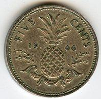 Bahamas 5 Cents 1966 KM 3 - Bahamas