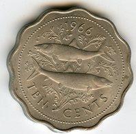 Bahamas 10 Cents 1966 KM 4 - Bahamas