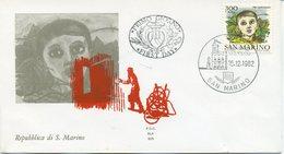 SAN MARINO - FDC ALA 1982 - PRO RIFUGIATI - FDC