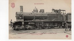 Les Locomotives (Nord)  Machine N°3177 Compound 3e Type. - Trains