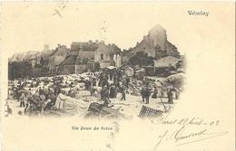 Dépt 89 - VÉZELAY - Un Jour De Foire - Vezelay