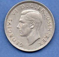 Grande Bretagne - 1/2 Crown 1947   - Km # 866  -état  TTB+ - 1902-1971 : Monnaies Post-Victoriennes