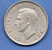 Grande Bretagne - 1/2 Crown 1947   - Km # 866  -état  TTB+ - 1902-1971 : Monete Post-Vittoriane
