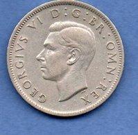 Grande Bretagne - 2 Schillings 1949   - Km # 878 -état  TTB+ - 1902-1971 : Monnaies Post-Victoriennes