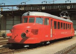 """Elektrischer Schnelltriebwagen RCe 2/4 203 """"Roter Pfeil"""" Der Schweizer Bundesbahnen - Eisenbahnen"""