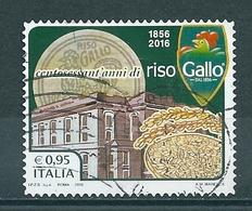 2016 RISO GALLO MADE ITALY  USATO - 6. 1946-.. Repubblica