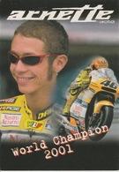 19 : 1 / 432  -    WORLD  CHAMPION  2001  -  ARNETTE  - C. P M. - Sport Moto