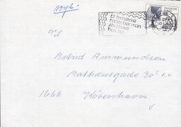 Denmark Slogan Flamme 'Frimærkehæfte' AARHUS C. 1981 Cover Brief Europa CEPT Telegraph (Cz. Slania) Stamp - Briefe U. Dokumente