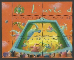 SAN MARINO 2003 PUPPETRY PUPPET THEATRE FLOWERS TRUMPET PUPPETS SET MNH - Solomon Islands (1978-...)