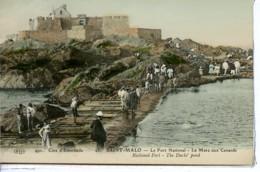Dpt 35 St-Malo Fort National, La Mare Aux Canards No23 Ed ELD Colorisee - Saint Malo