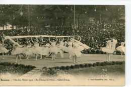 Dpt 35 Rennes Fete Des Fleurs 1910 - Ballet D Aida Sans No Ed Rousseliere Animee 1910 Neuve EXT - Rennes