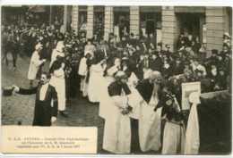 Dpt 35 Rennes Fete Diplomatique En L Honneur De SM Sisowath Organisee Par USE Le 7 Mars 1907 Sans No Ed HAG Animee 1907 - Rennes