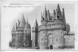 Dpt 35 Vitre Chateau Collection Hamonic Chateaux De Bretagne No388 - Vitre