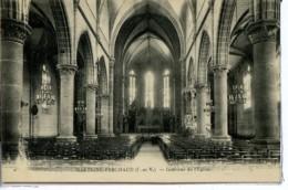 Dpt 35 Martigne-Ferchaud Interieur De L Eglise 1932 EV BE - France