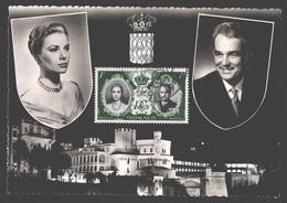Monaco - FDC - Marriage De Prince Rainier Et Grace Kelly - 19 Avril 1956 - Royalty / Koningshuis - Monaco
