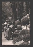 Monaco - Plantes Exotiques Et Costumes Monégasques - 1957 - Jardin Exotique