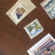 NUOVA ZELANDA I DINOSAURI - Francobolli
