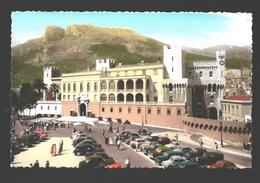 Monaco - Le Palais Du Prince Et La Place - 1962 - Vintage Car / Voiture - Palais Princier