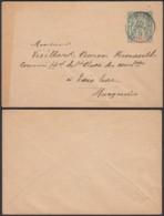 OCEANIE EP 5 C DE PAPEETE TAHITI 17/03/1898 VERS FRANCE (5G) DC-MV476 - Ozeanien (1892-1958)