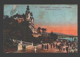 Monaco / Monte-Carlo - Le Théâtre Et Les Terrasses - 1924 - Monte-Carlo