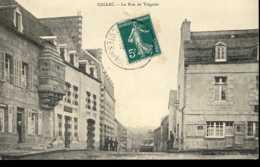 Dpt 22 Callac La Rue De Treguier 1910 EVT - Callac