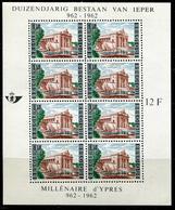 BELGIQUE - BLOC FEUILLET N° 33 * * YPRES - LUXE - Blocs 1924-1960