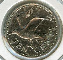 Barbades Barbados 10 Cents 1980 KM 12 - Barbades