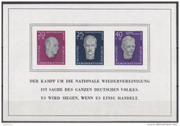 We_ DDR - Mi.Nr. Block 15 - Postfrisch MNH - Blocs