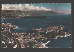 Monaco - Le Rocher, Le Port - Au Fond: Le Cap Martin Et La Côte Italienne - 1962 - Monaco