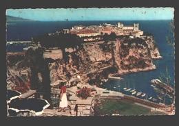 Monaco - Le Rocher De Monaco Vu Du Jardin Exotique - Monaco