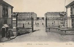 CPA 88 (Vosges)  EPINAL / LA CASERNE COURCY / ANIMEE - Epinal