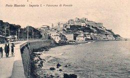91Md   Italie Imperia I. Porto Maurizio Panorama Di Ponente (vue Pas Courante) - Imperia