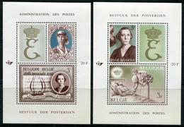 BELGIQUE - BLOC FEUILLET N° 40 & 41 * * REINE ELISABETH - LUXE - Blocs 1924-1960