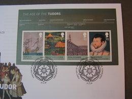 GB FDC 2009   Bl. 50  Monarchie - Blocks & Kleinbögen